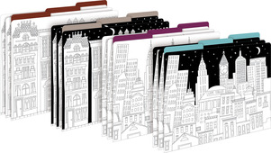 Color Me! Cityscapes File Folders picture