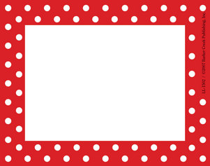 Red and White Name Tag picture