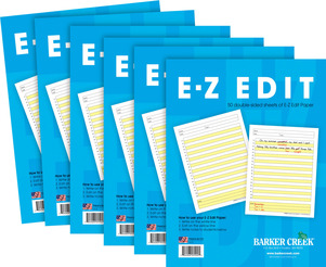 UPDATED! E-Z Edit™ Paper -  6-Pack picture