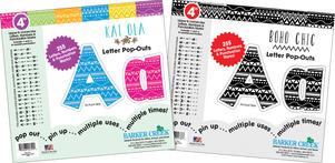 "Letter Set - 4"" Kai Ola & 4"" Boho Chic picture"