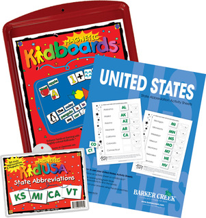 State Abbreviations Activity Kit picture