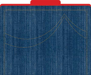 Denim File Folders picture