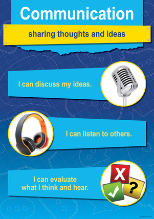 NEW! STEM/STEAM Poster - Communication picture