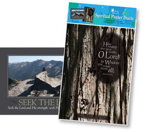 NEW! Poster Duets - Natural Wonders picture