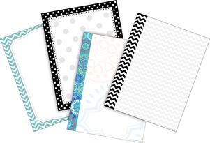 Chevron & Dots Paper Set picture