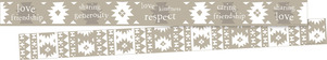 NEW! Thoughtfulness Double-Sided Trim - Friendship picture
