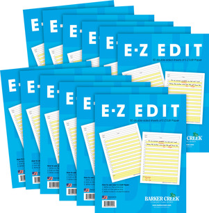 UPDATED! E-Z Edit™ Paper -  12-Pack picture