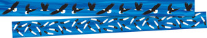 NEW! Sea & Sky Double-Sided Trim - Eagles picture