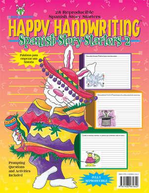 Happy Handwriting Spanish Story Starters 2 picture