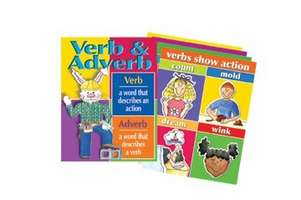 Verbs & Adverbs Chart Set picture