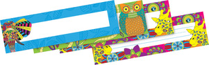 Bohemian Animals DOUBLE-SIDED Name Plates picture