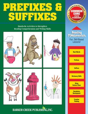 Prefixes & Suffixes (downloadable PDF) picture