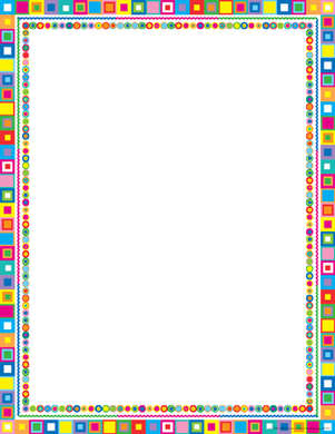 Retro Computer Paper picture