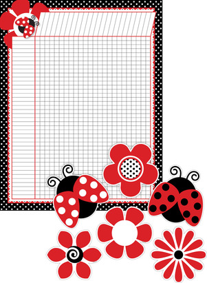 Just Dotty Incentive Chart and Accent Set - Set of 37 picture