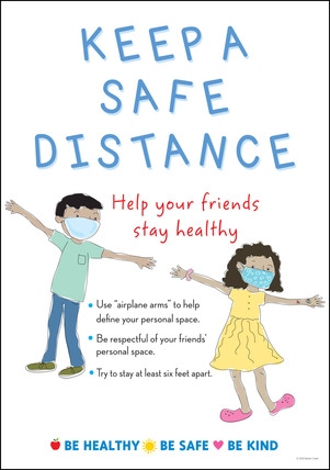 NEW! Poster - Keep a Safe Distance picture