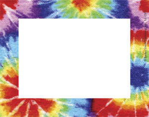 Tie-Dye Name Tag picture