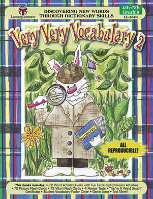 Very, Very Vocabulary 2 (Downloadable PDF) picture