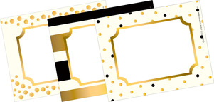 24k Gold Name Tags picture