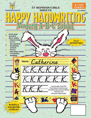 Happy Handwriting Modern ABC Tablet picture