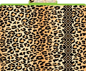 Leopard File Folders picture