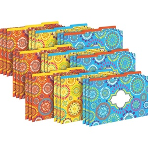 Legal File Folders Pack of 27 - Moroccan picture
