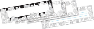 Color Me! Cityscapes DOUBLE-SIDED Name Plates picture
