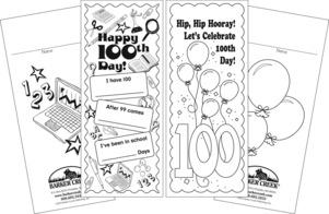 Celebrate 100th Day Bookmark Duet picture