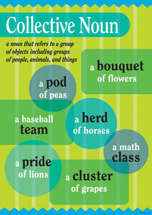 Grammar Poster - Collective Noun picture