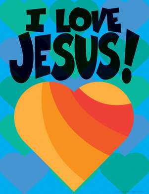I Love Jesus! Say-It Chart picture