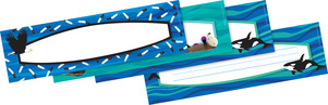 NEW! Sea & Sky DOUBLE-SIDED Name Plates picture