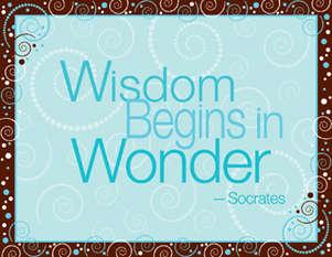 Wisdom Begins in Wonder picture