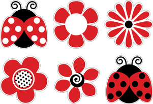 Ladybugs & Posies Accents picture
