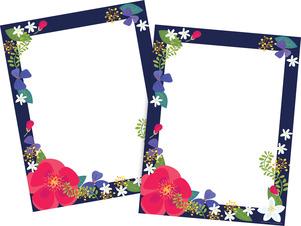 Petals Computer Paper  - 100 Sheets picture
