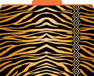 Tiger File Folders picture
