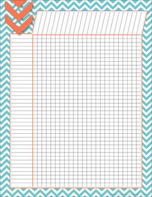 Chevron - Turquoise Incentive Chart picture