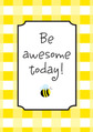 Poster - Be Awesome