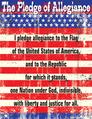 Pledge of Allegiance Chart