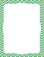 Chevron - Green Border Chart