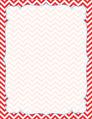 Chevron - Poppy Border Chart