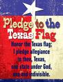 Pledge to the Texas Flag Chart