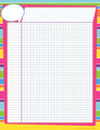 Incentive Chart - Happy Bright Stripes