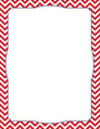 Chevron - Red Border Chart