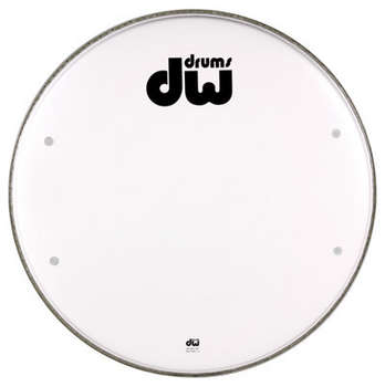 DRDHSW22 - 22 inch smooth white drum head (Vented) picture