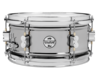 PDSN0612BNCR - PDP Concept Series Black Nickel over Steel Snare with Chrome Hardware 6X12