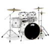 PDMA2215P8WH - PDP MAINSTAGE 5-PIECE W/HW AND PAISTE CYMBALS - WHITE