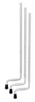 TOM LEGS, 21, ALUMINUM, SATIN CR (3 PK) picture