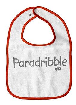 PR25BIB - INFANT SNAP BIB, ORANGE picture