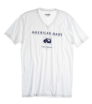 PR25SSAM - AMERICAN MADE, WHITE T-SHIRT picture