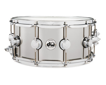 DRVL6514SPC - COLLECTOR'S SERIES 6.5X14 STAINLESS STEEL SNARE, CR HW picture