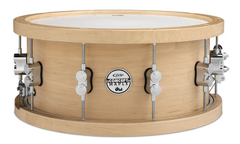 PDSN5514NAWH - PDP Concept Series Wood Hoop 20-ply Maple Snare - 5.5X14 picture